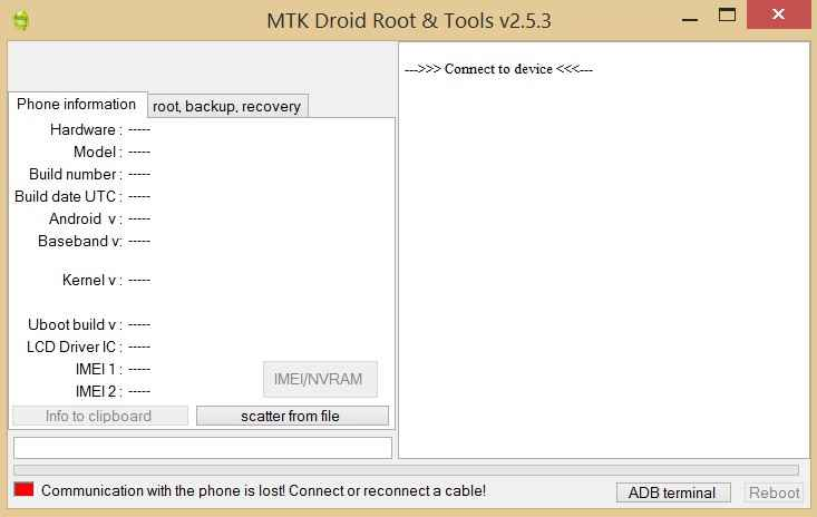 open-mtk-droid-tool
